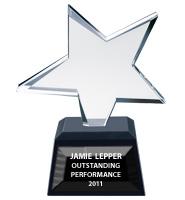 Star Jewel Crystal Award