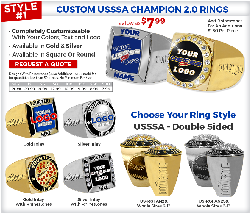 USSSR Champion 2.0 Rings