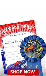 Derby Certificates & Ribbons