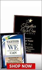 Together We Can Plaques