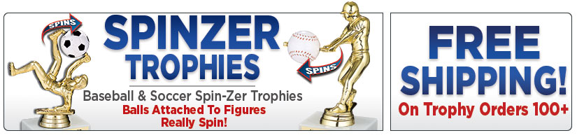 "6"" Sport Spin-Zer Trophies"