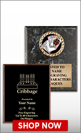 Cribbage Plaques