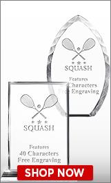 Squash Crystal Awards