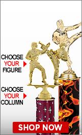 Karate Column Trophy