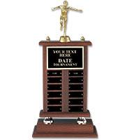 U-Sports Walnut Perpetual Trophy