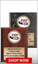 Pop Warner Football Plaques