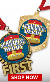 Submarine Derby Medals