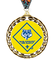 Laurel Wreath Cub Scout™ Insert Medal