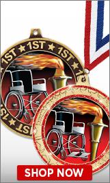 Wheelchair Medals