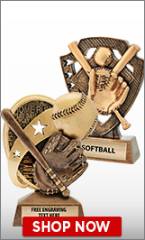 Softball Sculptures