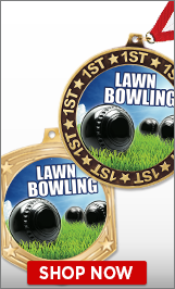 Lawn Bowling Medals