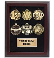 """12"""" x 15"""" Medal Display Frame Plaque"""