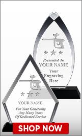Paintball Acrylic Awards