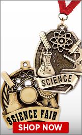 Science Fair Medals