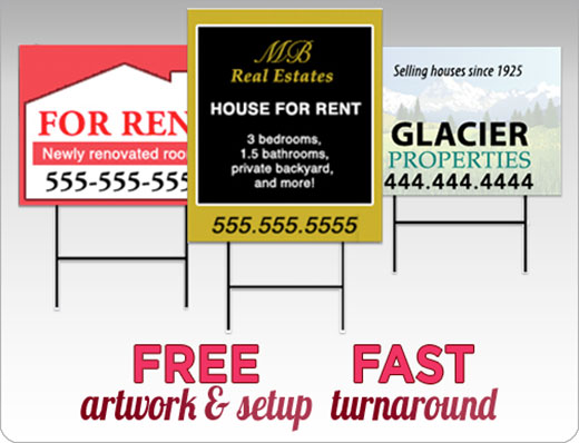 Crown Custom Real Estate Signs