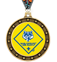 Universe Star Cub Scout™ Insert Medal
