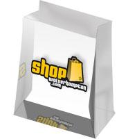 Shopping Bag Acrylic Embedment