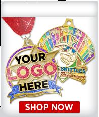 Custom Glitter Medals