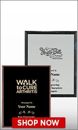 Arthritis Foundation Plaques