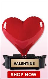 Valentine's Day Trophy