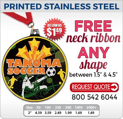Custom Printed Stainless Steel