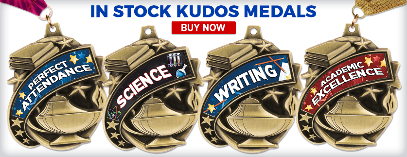 Kudos Academic Medals