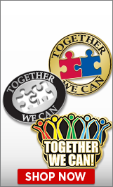Together We Can Pins