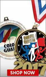 Color Guard Medals