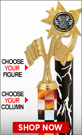 Racing Column Trophies