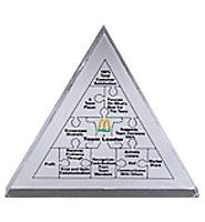 Triangle Acrylic Embedments