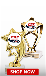 Pop Warner Football Trophies