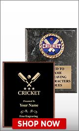 Cricket Plaques