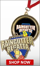 Raingutter Regatta® Medals
