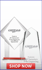 USSSA Volleyball Crystals