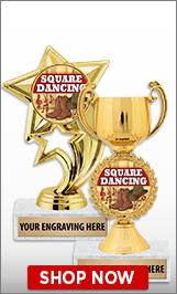 Square Dancing Trophies