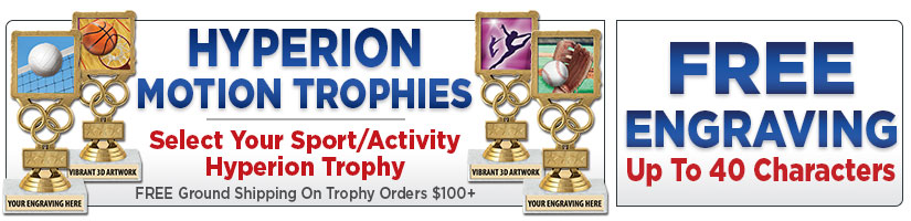 "6"" Hyperion Motion Trophies"