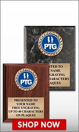 PTG Plaques