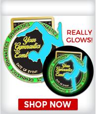 Custom Glow In The Dark Medals