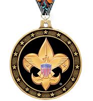 Universe Star Boy Scout™ Insert Medal