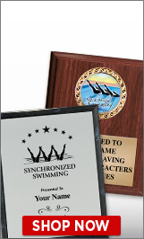 Synchronized Swimming Plaques