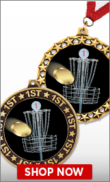 Disc Golf Medals