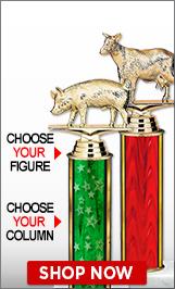 State Fair Column Trophies