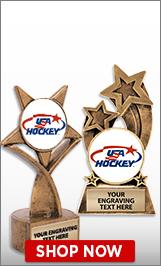 USA Hockey Sculptures