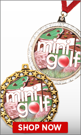 Mini Golf Medals