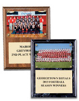 Team Photo Plaques