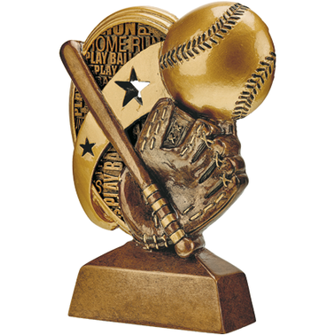 "5.25""KUDOS SOFTBALL SCULPTURE"