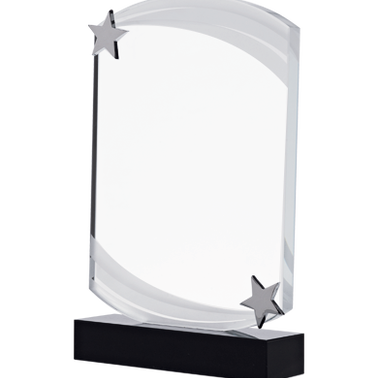 "7"" NEBULA STAR CRYSTAL AWARD"