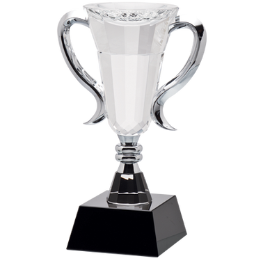 "7.75"" TRIUMPH CRYSTAL AWARD"