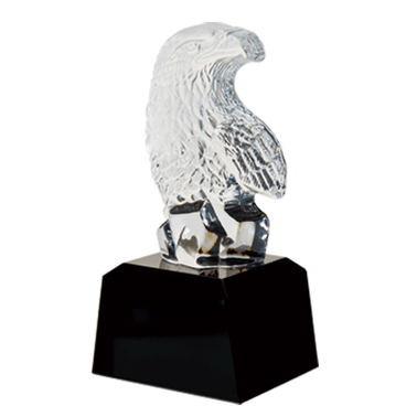 "5.75"" BALD EAGLE JEWEL CRYSTAL"
