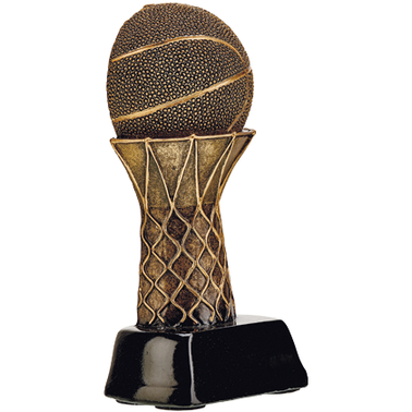 "4.5"" TREBLE BASKETBALL TROPHY"